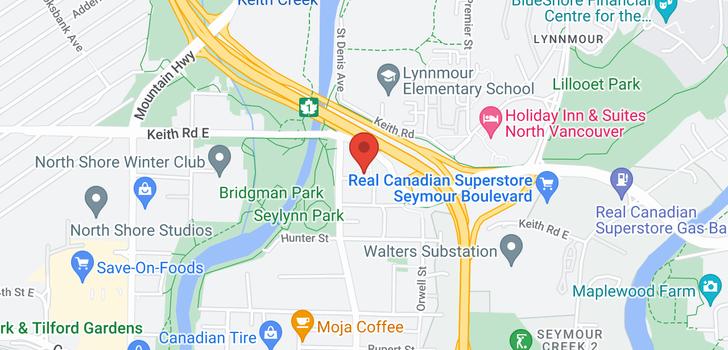 map of 614 680 SEYLYNN CRESCENT