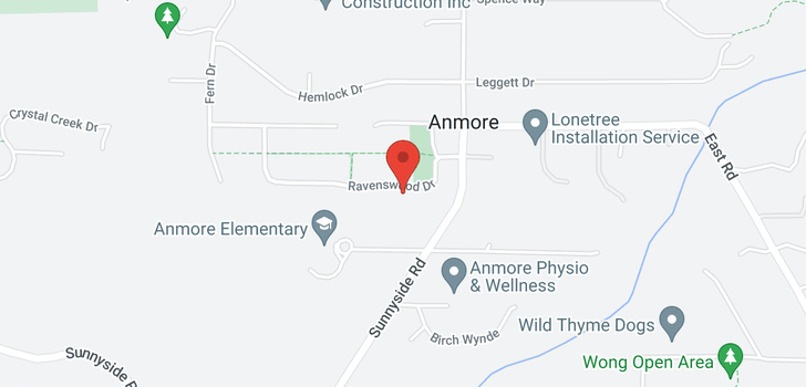 map of 1016 RAVENSWOOD DRIVE