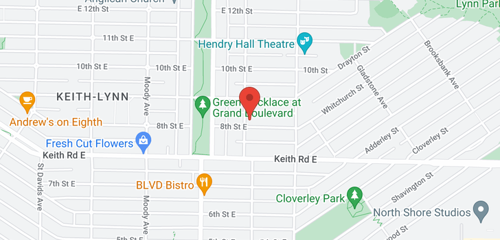 map of 830 SUTHERLAND AVENUE