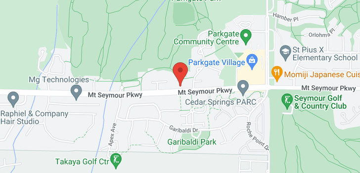 map of 13 3468 MOUNT SEYMOUR PARKWAY