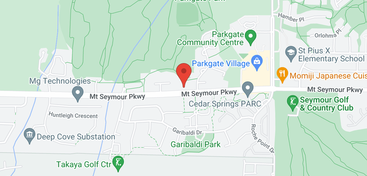 map of 22 3468 MOUNT SEYMOUR PARKWAY