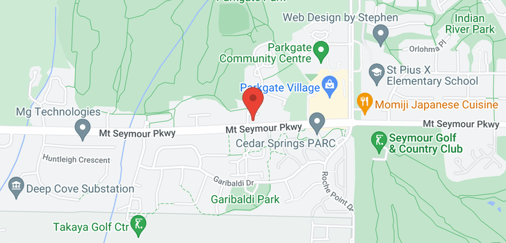 map of 6 3508 MT SEYMOUR PARKWAY