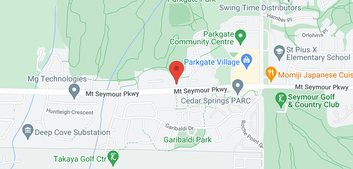 map of 17 3468 MOUNT SEYMOUR PARKWAY