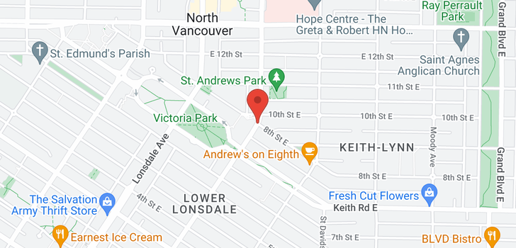 map of 112 108 8TH STREET