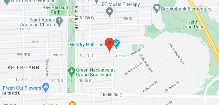 map of 788 E 10TH STREET