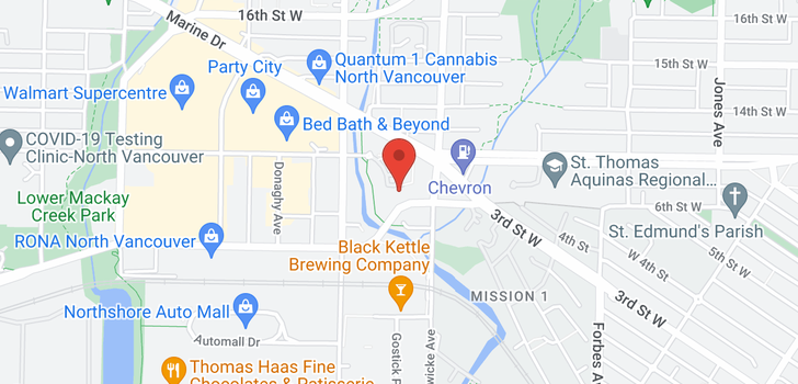 map of 604 719 W 3RD STREET