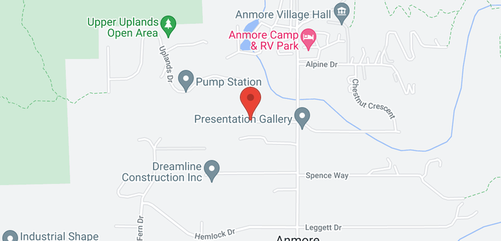 map of 3053 ANMORE CREEK WAY