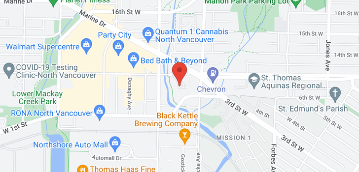 map of 225 723 W 3RD STREET
