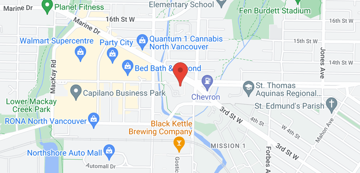 map of 108 733 W 3RD STREET