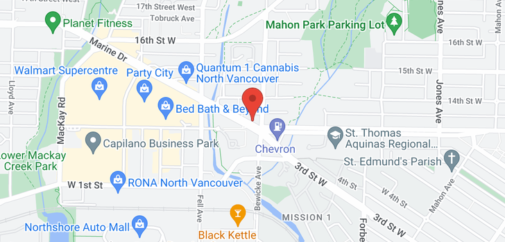map of 416 733 W 3RD STREET