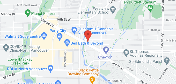 map of 214 733 W 14TH STREET