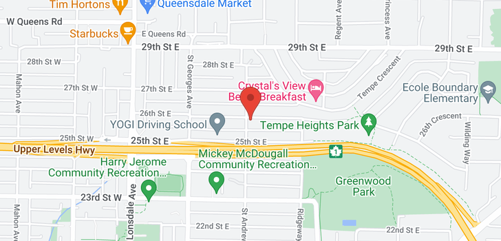 map of 303 E 26TH STREET