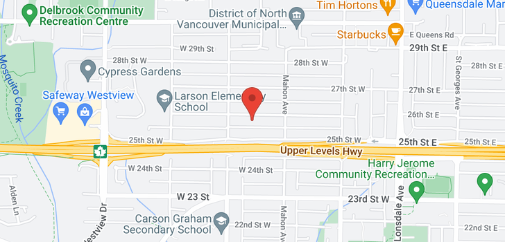 map of 339 W 26TH STREET
