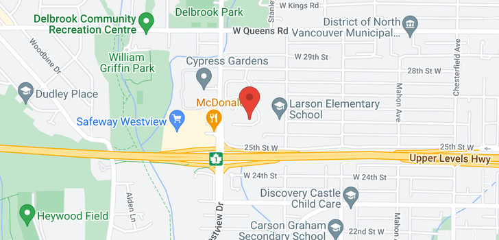 map of 701 555 W 28TH STREET