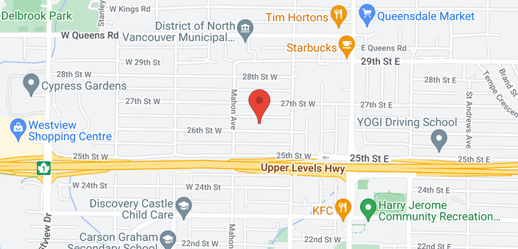 map of 238 W 26TH STREET