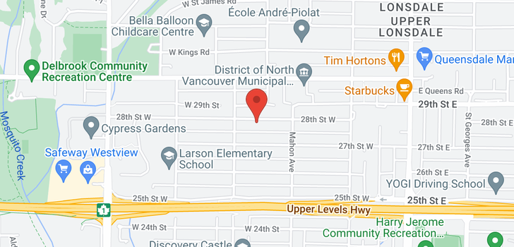 map of 363 W 28TH STREET