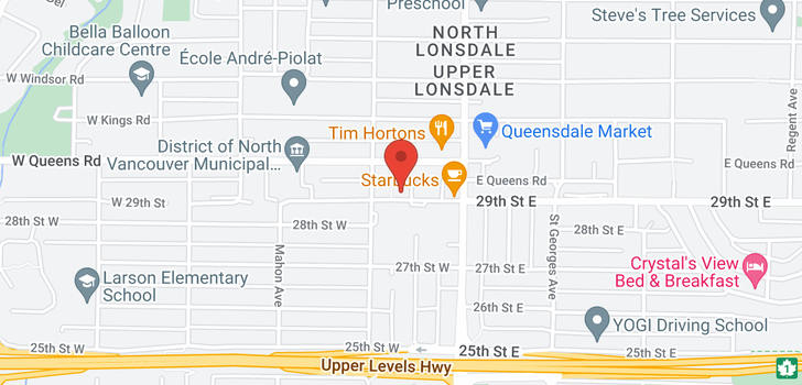 map of 306 188 W 29TH STREET