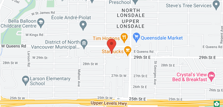 map of 204 188 W 29TH STREET