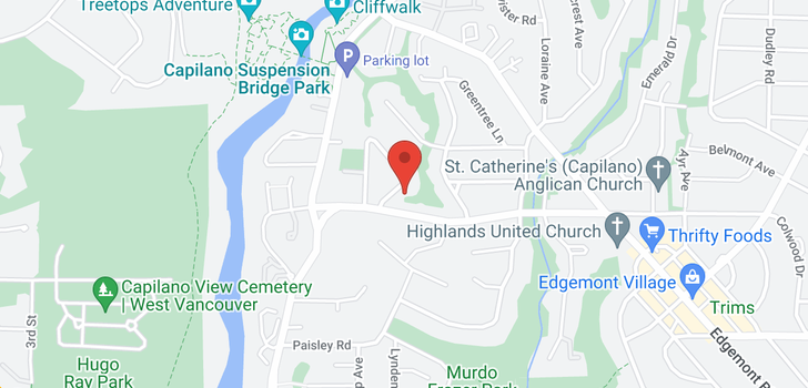 map of 3380 AINTREE DRIVE