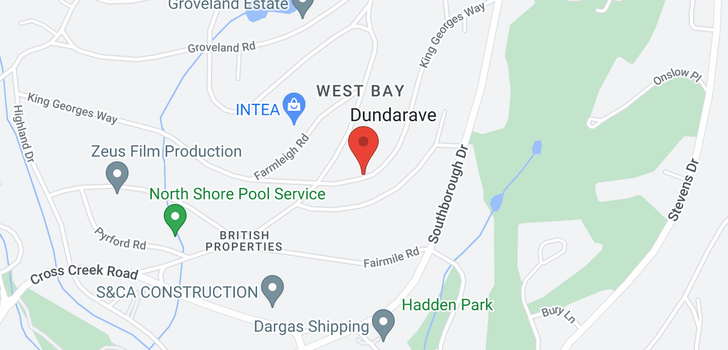 map of 775 KING GEORGES WAY