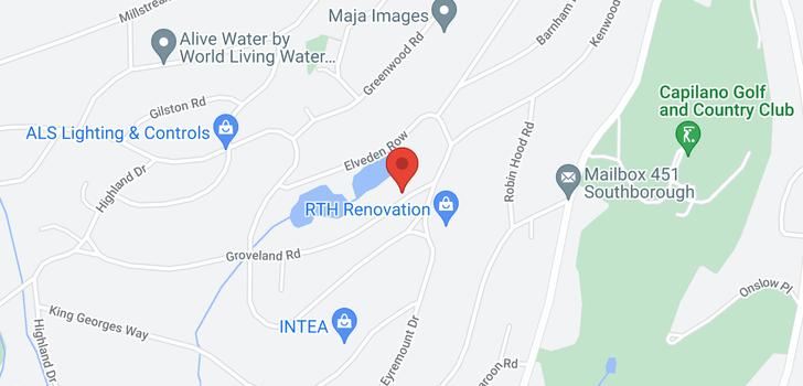 map of 928 GROVELAND ROAD