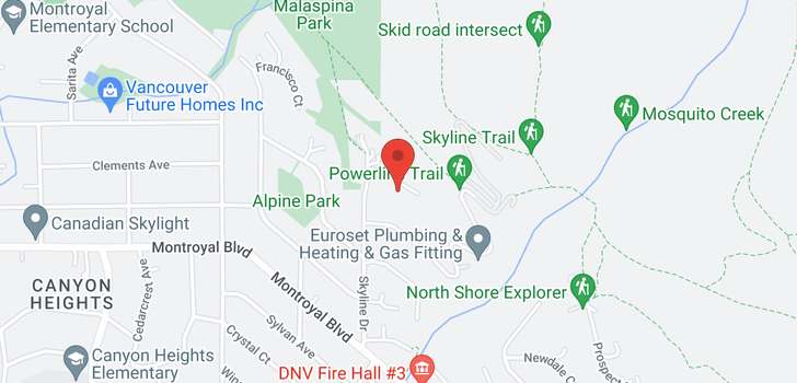 map of 4980 CHALET PLACE