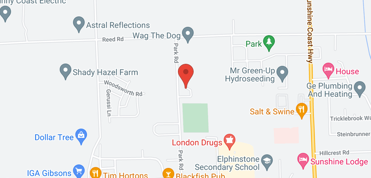 map of 3 798 PARK ROAD