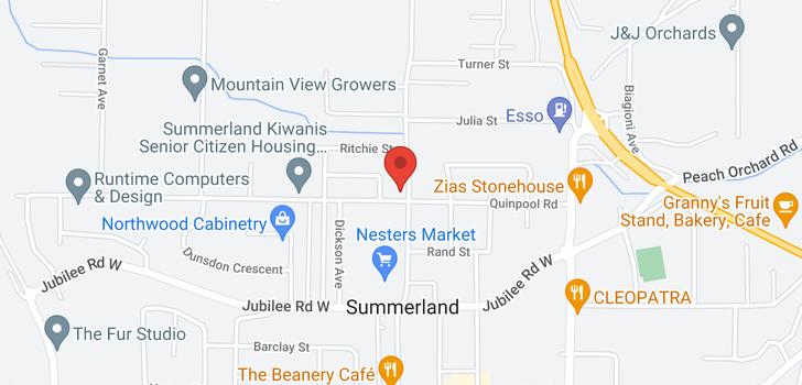 map of 45 ARTHUR STREET