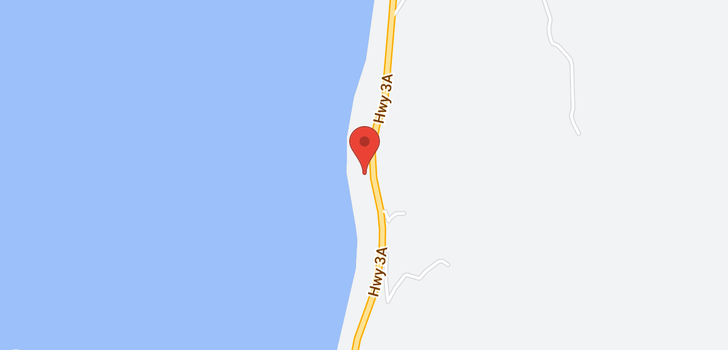 map of 14783 3A Highway