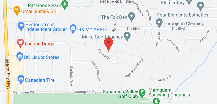 map of 40275 AYR DRIVE
