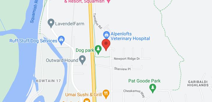 map of 39 40653 TANTALUS ROAD