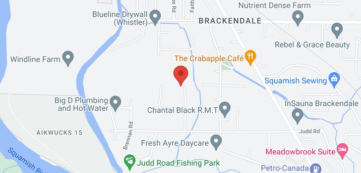 map of 41605 - 41611 GRANT ROAD