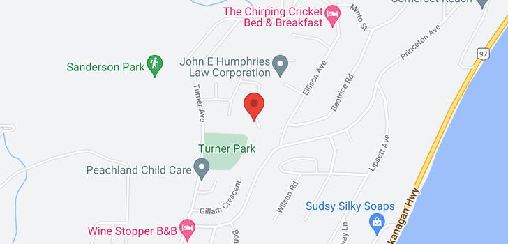 map of 6094 Jackson Crescent