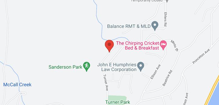map of 6151 Seymoure Lane