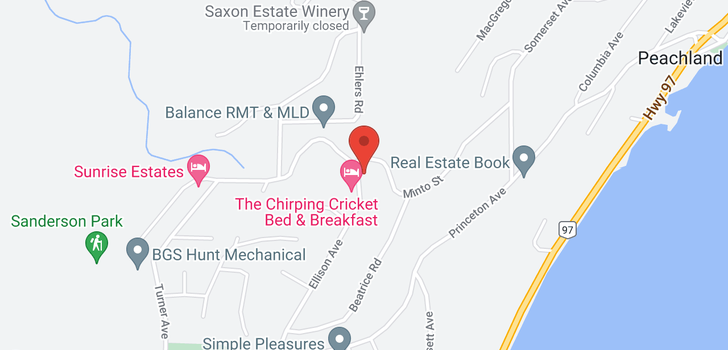 map of 6009 Ellison Avenue