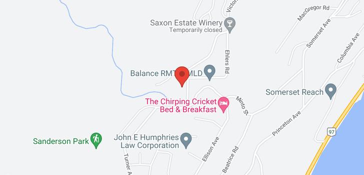 map of 5950 Victoria Street