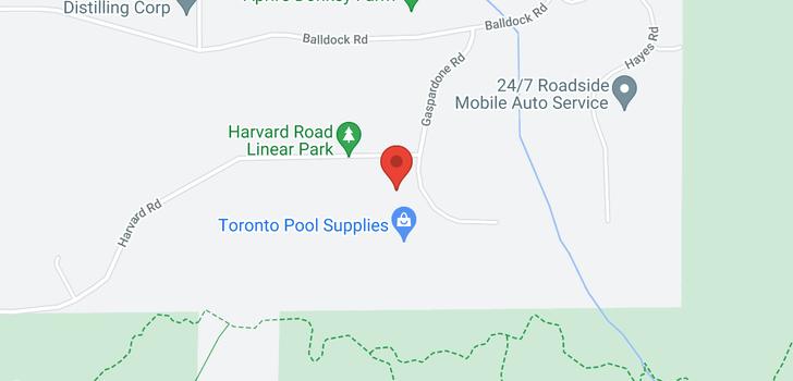 map of 2957 Harvard Road