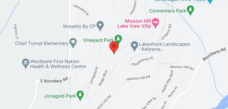map of 3385 Ridge Boulevard