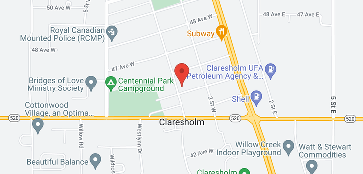 map of 232 45 Avenue W