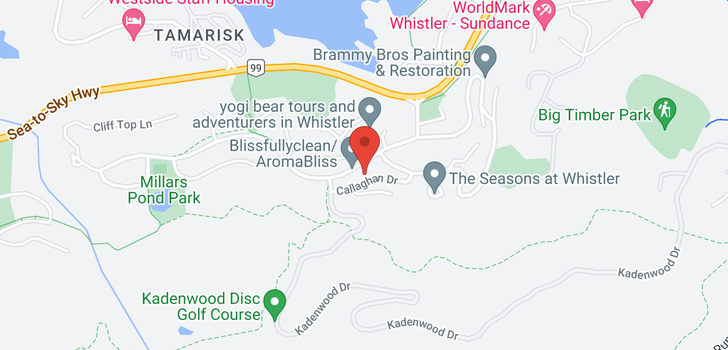 map of 2617 CALLAGHAN DRIVE