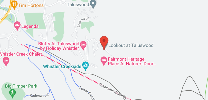 map of 6 2500 TALUSWOOD PLACE
