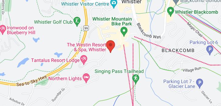 map of 803 4090 WHISTLER WAY