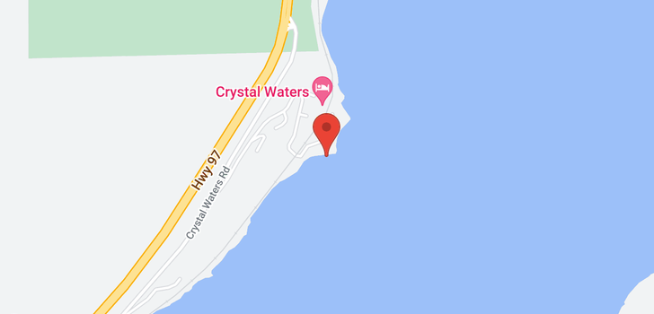 map of #3 18451 Crystal Waters Road