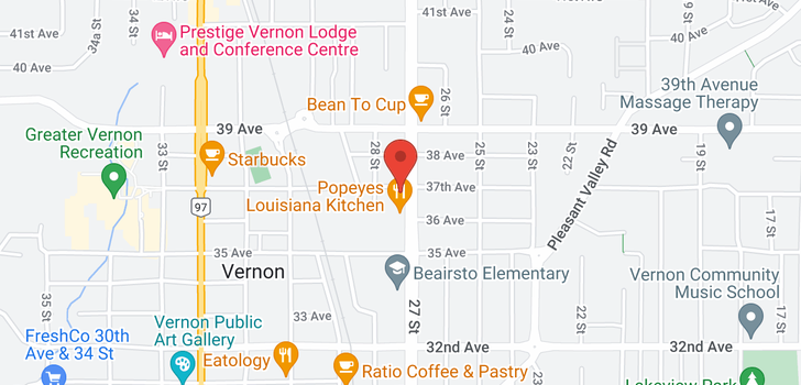 map of #311 3608 27 Avenue