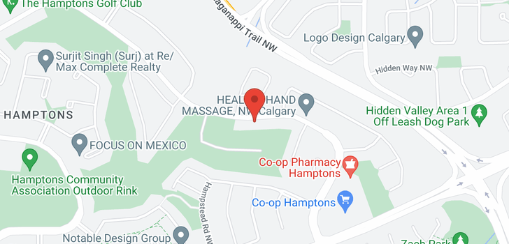 map of 538 HAMPTONS DR NW