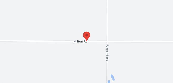 map of 0 Milton Road