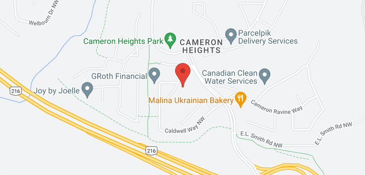 map of 413 CALDWELL PL NW
