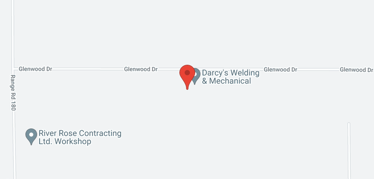 map of 7995 Glenwood DR NW