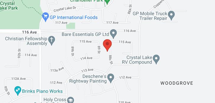 map of 11430 88c Street