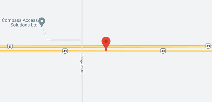 map of 30045 Highway 43